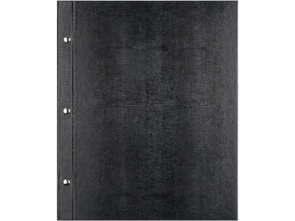 XXLselect Menü Bibliothek Croco - Schwarz A5