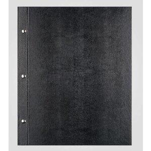 XXLselect Menu Library Lizard - Black A5