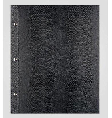 XXLselect Menü Bibliothek Lizard - Schwarz A4