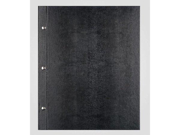 XXLselect Menukaart Library Lizard - Zwart A4