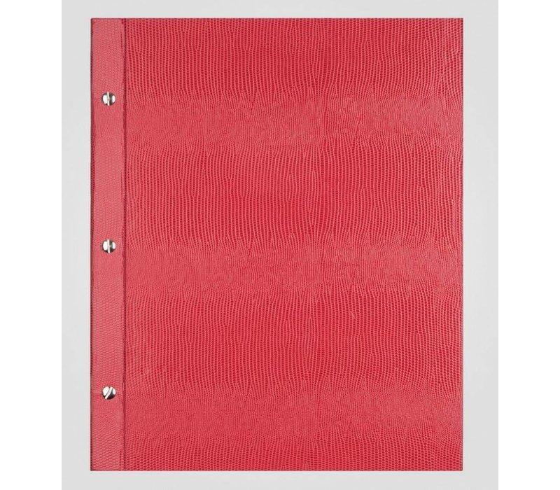 XXLselect Menu Library Lizard - Red A4