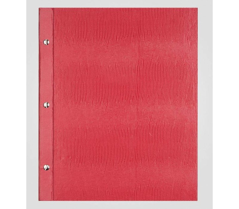 XXLselect Menü Bibliothek Lizard - Red A4