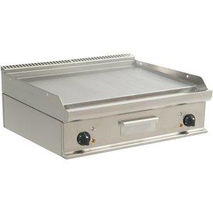 Saro Glatte Grillplatte Elektro-Tabletop Casta - 80x70x (h) 27 cm - 400 V / 10,8kW