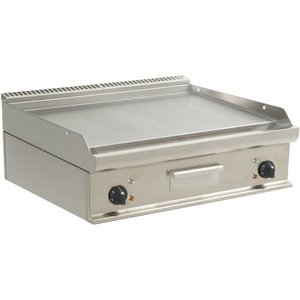 Saro Smooth griddle Electric Tabletop Casta - 80x70x (h) 27cm - 400V / 10,8kW
