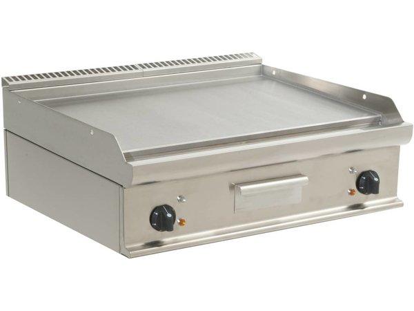 Saro Bakplaat Glad Elektrisch Tafelmodel Casta - 80x70x(h)27cm - 400V/10,8kW