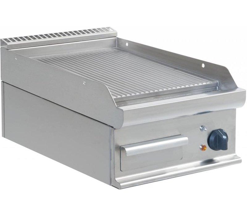 Saro Ribbed griddle Electric Tabletop Casta - 40x70x (h) 27cm - 400V / 5,4kW
