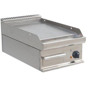 Saro Bakplaat Glad Elektrisch Tafelmodel Casta - 40x70x(h)27cm - 400V/5,4kW