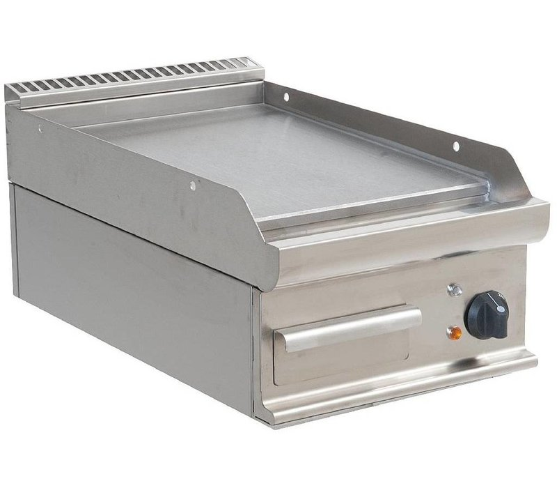 Saro Smooth griddle Electric Tabletop Casta - 40x70x (h) 27cm - 400V / 5,4kW