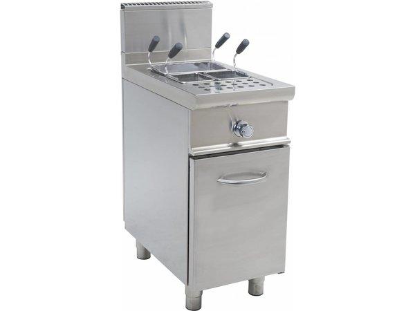 Saro Pasta Cooker Stainless steel   28 Liter   Gas with Mount Casta - 11KW - 400x700x (H) 850mm