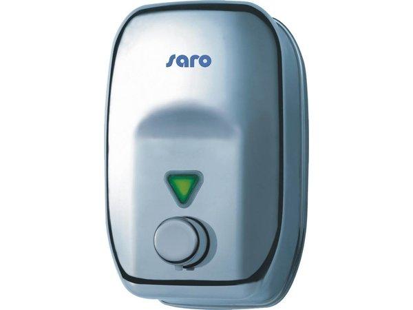 Saro Stainless Steel Soap Dispenser 1800ml - Push button - 140x120x210mm