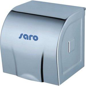 Saro Toilet paper dispenser   Stainless steel   12x12x12cm