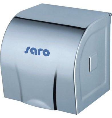 Saro Toilettenpapierhalter | Edelstahl | 12x12x12cm