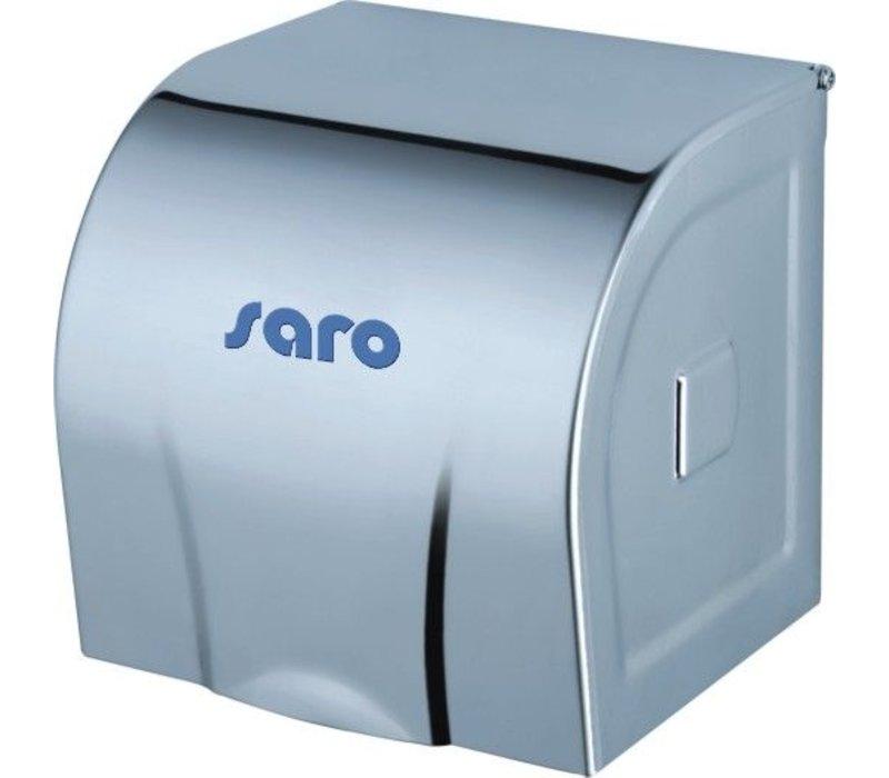Saro Toilet paper dispenser | Stainless steel | 12x12x12cm