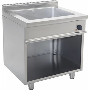 Saro Bain-Marie | 2 / 1GN | Electrical | Mit Open Frame Casta | 3kW | 900x700x (H) 850mm