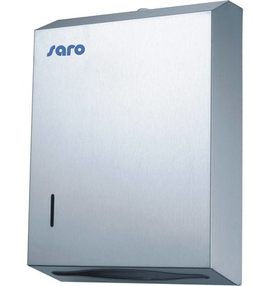 Saro Papier Dispenser RVS - 28x10x38cm