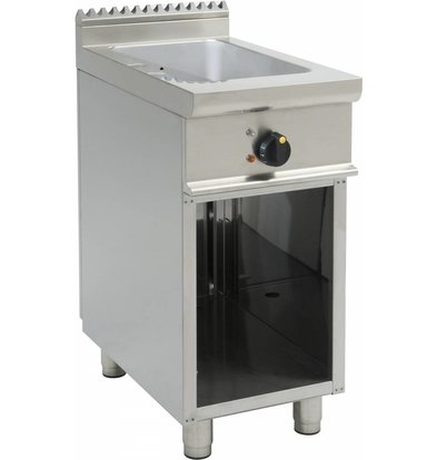 Saro Bain Marie | 1 / 1GN | Electrical | With Open Frame Casta | 400x700x (H) 850mm