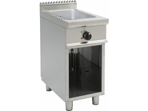 Saro Bain Marie | 1/1GN | Elektrisch | Met Open Onderstel Casta | 400x700x(H)850mm