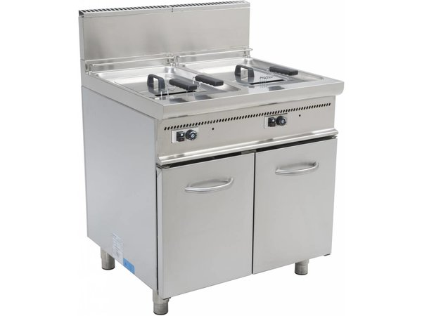 Saro fryer | Casta | gas | 2x17 Liter | 33kW | With Mount | 80x70x (h) 85cm