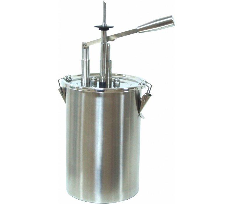 Saro Verwarmde Saus Dispenser - 4,5 Liter