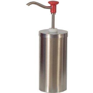 Saro Saus Dispenser - RVS - 2,25 Liter - Pro
