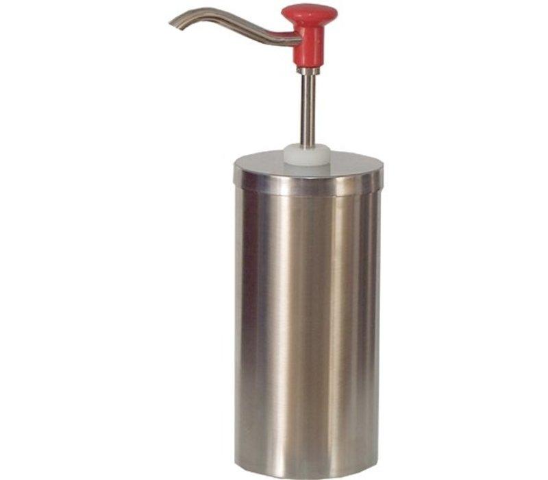 Saro Soßenspender - Edelstahl - 2,25 Liter - Pro