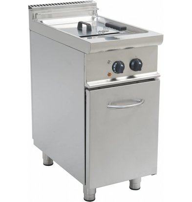 Saro fryer | electric | 13 Liter | 400V | 12 kW | With Mount Casta | 400x700x (H) 850mm