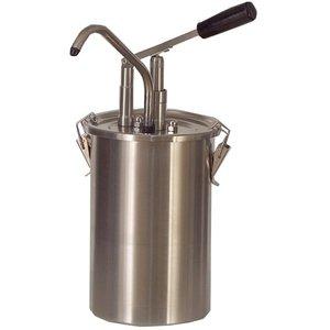 Saro Saus Dispenser - RVS - 4,5 Liter - Pro