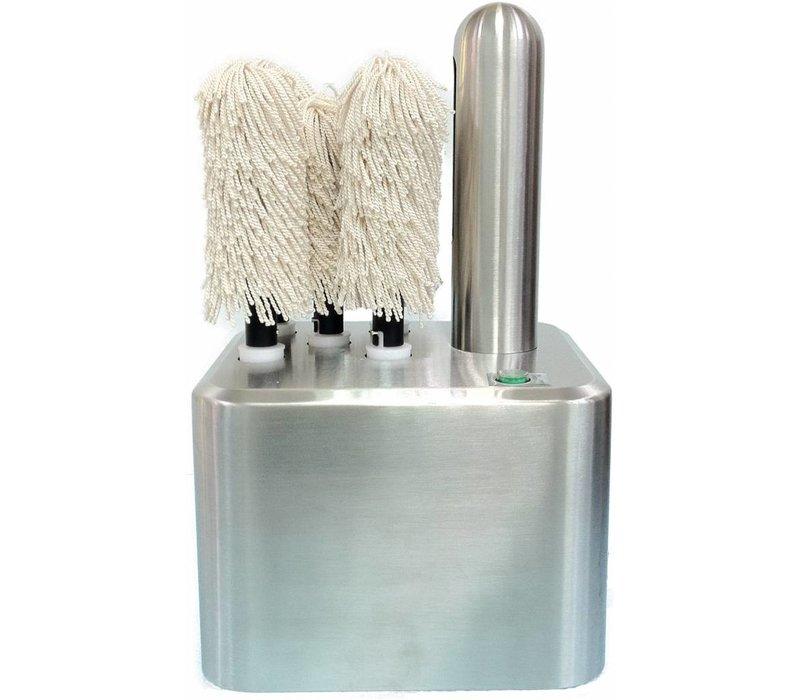 Saro Glazenpoleermachine - 5 Brushes