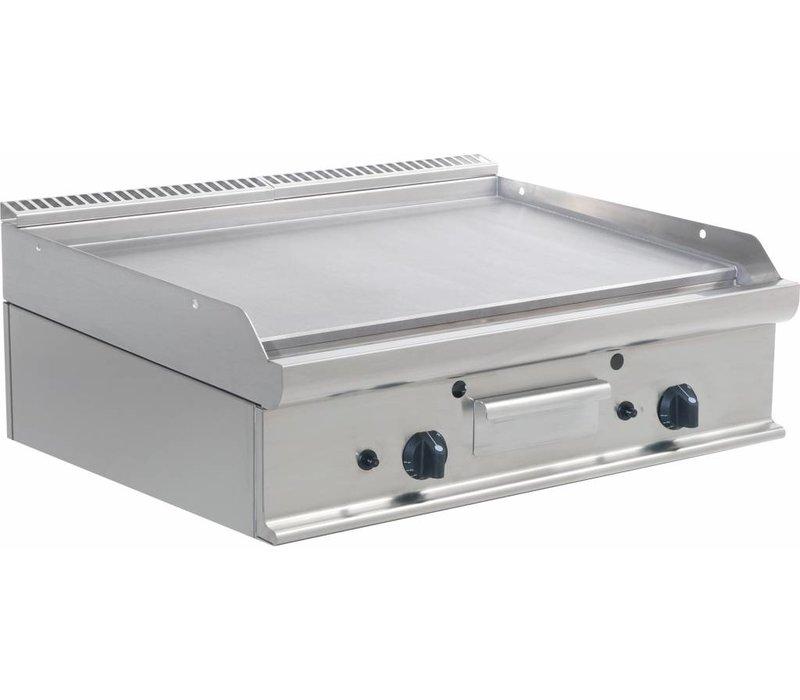 Saro Glatte Grillplatte Gas Tabletop Casta - 80x70x (H) 27cm - 12KW