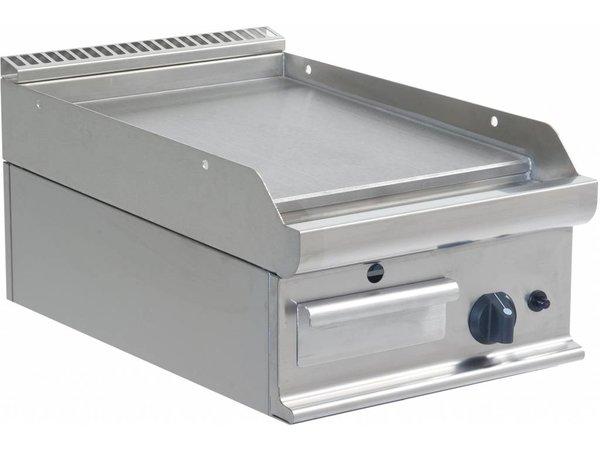 Saro Bakplaat Glad Gas Tafelmodel Casta - 40x70x27cm - 6KW