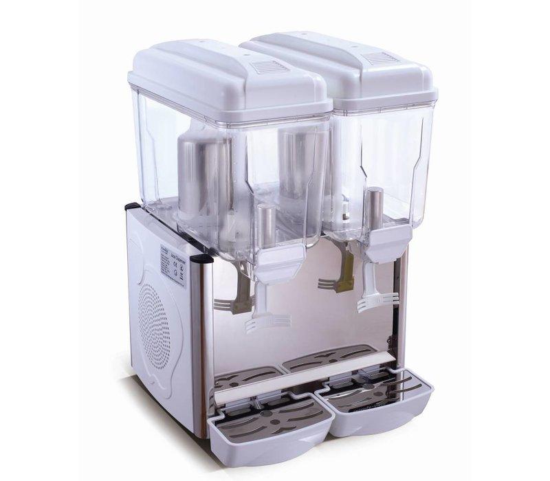 Saro Chilled drinks dispenser 2 x 12 Liter - White
