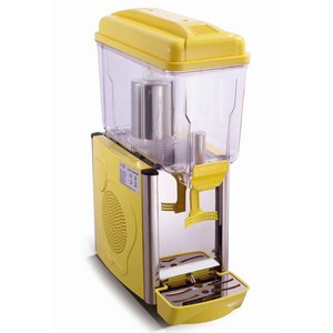 Saro Chilled drinks dispenser 12 Liter - Yellow