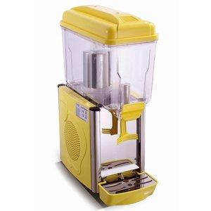 Saro Gekoelde dranken dispenser 12 Liter - Geel