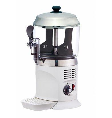Saro Chocomelk Dispenser voor Warme Chocomel - 5 liter - Wit - XXL AANBIEDING!
