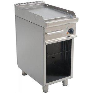 Saro Smooth electric griddle Open Frame Casta - 40x70x (h) 85cm - 400V / 5,4kW