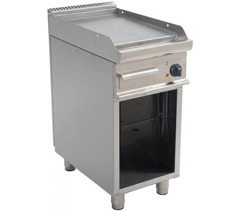 Saro Bakplaat Glad Elektrisch Open Onderstel Casta - 40x70x(h)85cm - 400V/5,4kW