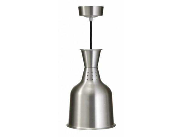 Saro Wärmelampe Basic - Infrarot - Aluminium - 250W / 230V - Ø 184 x L 288 mm
