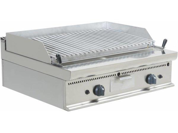 Saro Lavasteingrill Gas - Tabletop Casta - V-Grid - 80x70x (h) 27cm - 16KW