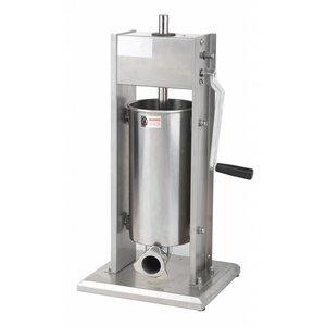 Saro Worstenvul Machine RVS - 7 Liter