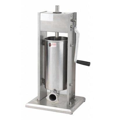 Saro Worstenvul Maschinen RVS - 7 Liter