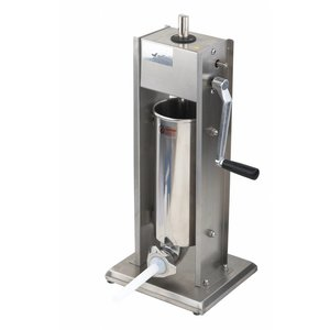 Saro Worstenvul Maschine Edelstahl - 5 Liter