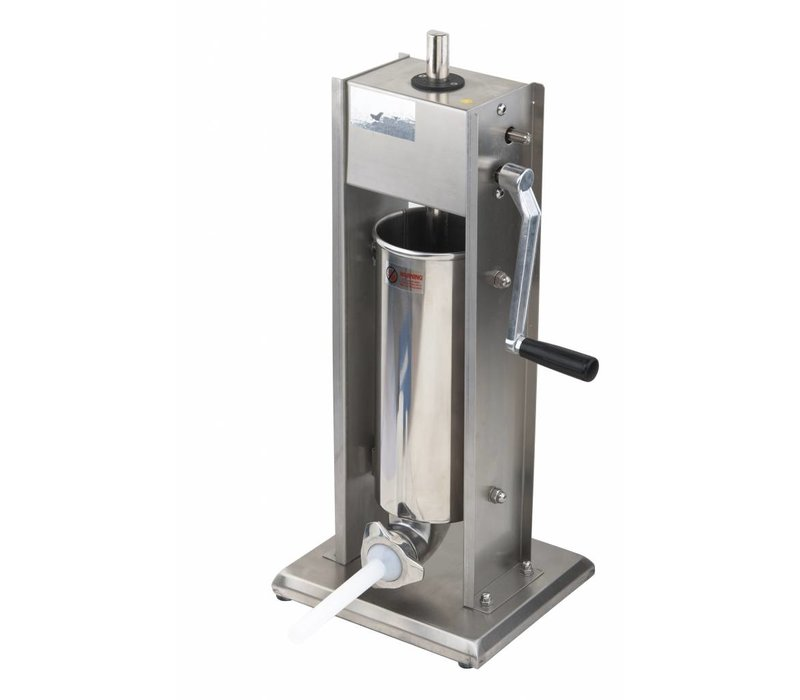 Saro Worstenvul Machine RVS - 5 Liter