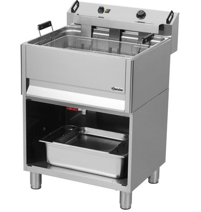 Bartscher fryer | electric | bakery | 30 Liter | 400V | 15kW | With Open Substructure | 615x490x (H) 130mm