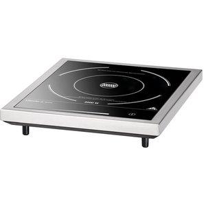 Bartscher Inductie-Kookplaat - Glazen kookvlak - 8 instellingen - 33x34x(h)6cm