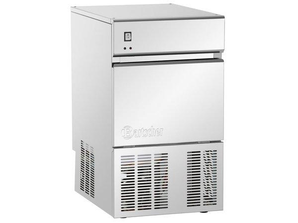Bartscher Ice machine - 25 kg / 24 hours - Stock 25kg - 40x55x (h) 69cm