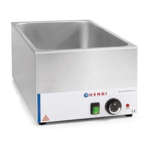 Hendi Bain-Marie GN | 150mm deep | Kitchen Line HENDI | 1200W | 340x540x (H) 250mm