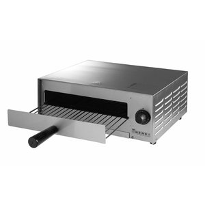 Hendi Pizzaofen Elektroeinzel | Pizza 30cm Grund | 1300W | 480x420x (H) 195mm