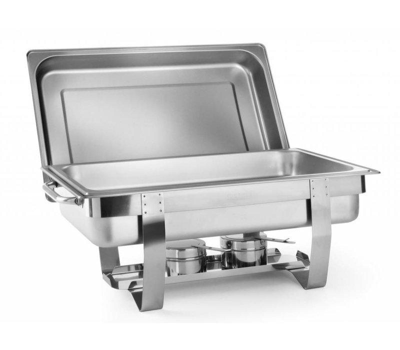 Hendi Chafing Dish | 9 Liter | GN 1/1 | Up to 100mm deep | 585x385x (H) 315mm