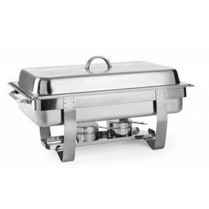 Hendi Chafing Dish   9 Liter   GN 1/1   Bis zu 100 mm tiefen   585x385x (H) 315mm