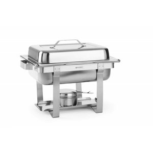 Hendi Chafing Dish | 1/2 GN | 4.5 Liter | 385x295x (H) 310mm